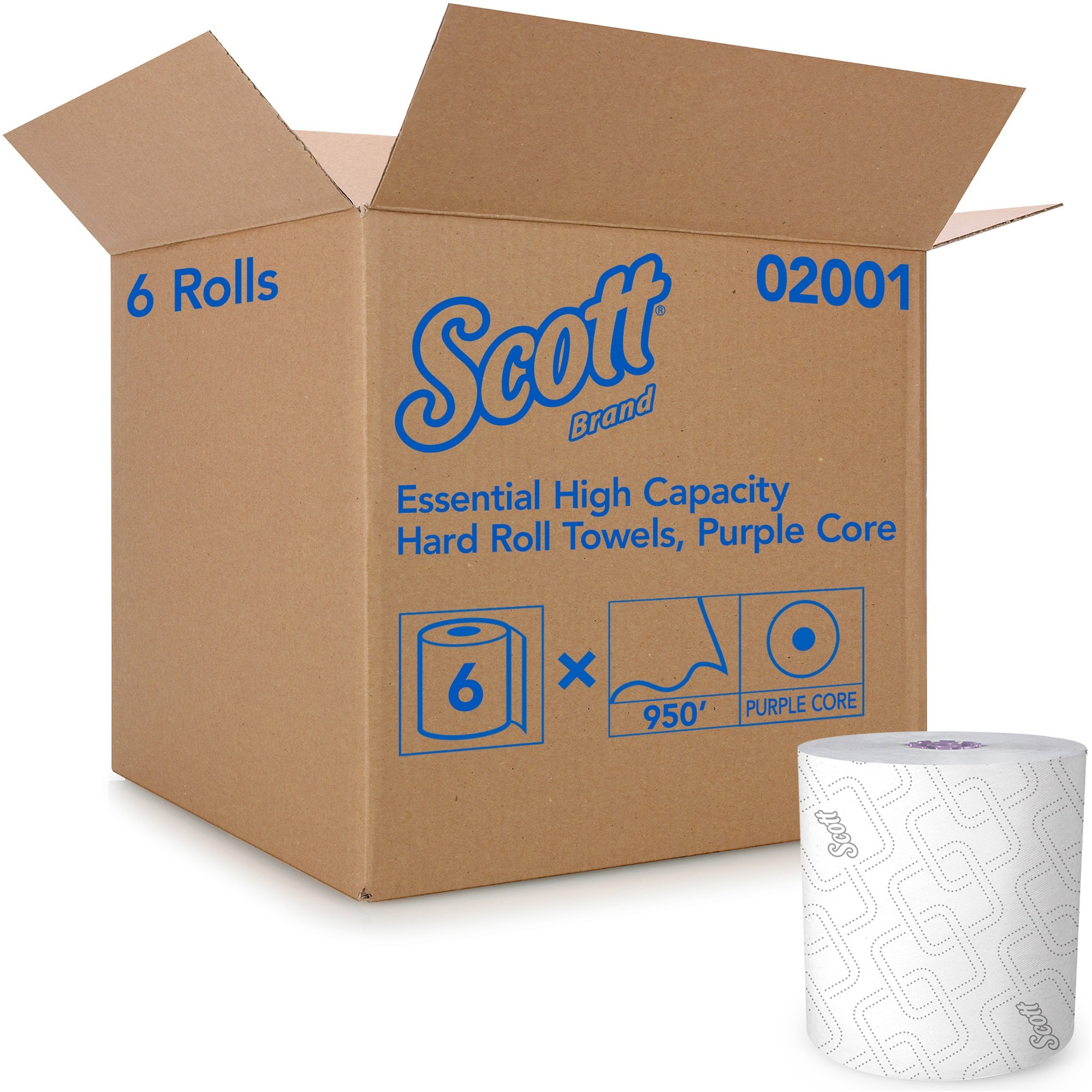 Scott Essential Hard Roll Towels