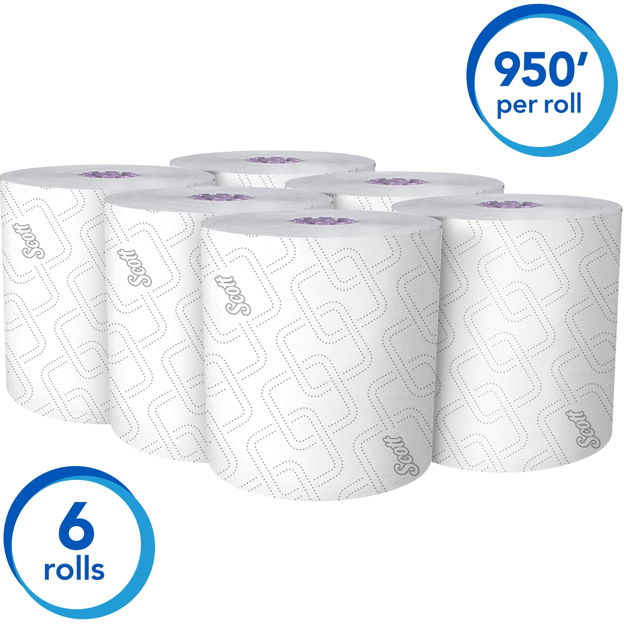Kimberly-Clark Professional Essential High-Capacity Hard Roll Paper Towels for Scott Essential Dispenser