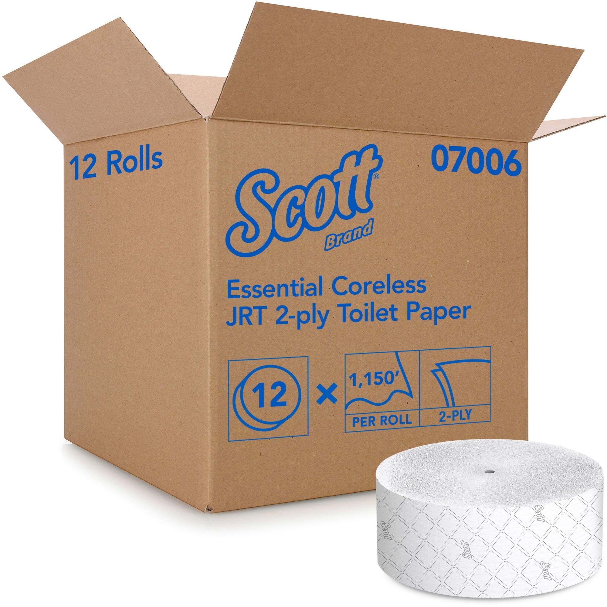 Scott Coreless Jumbo Roll Tissue