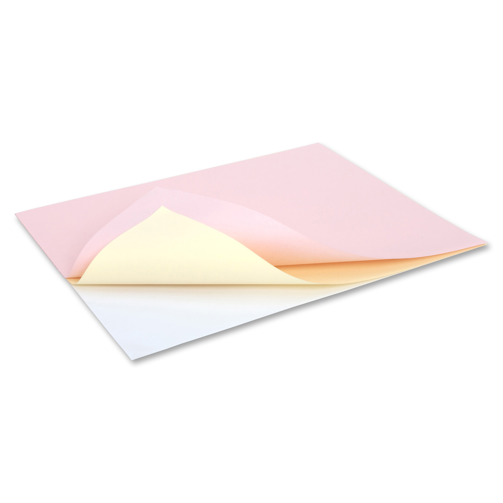 NCR Paper 3-Part Reverse Superior Carbonlss Sheets