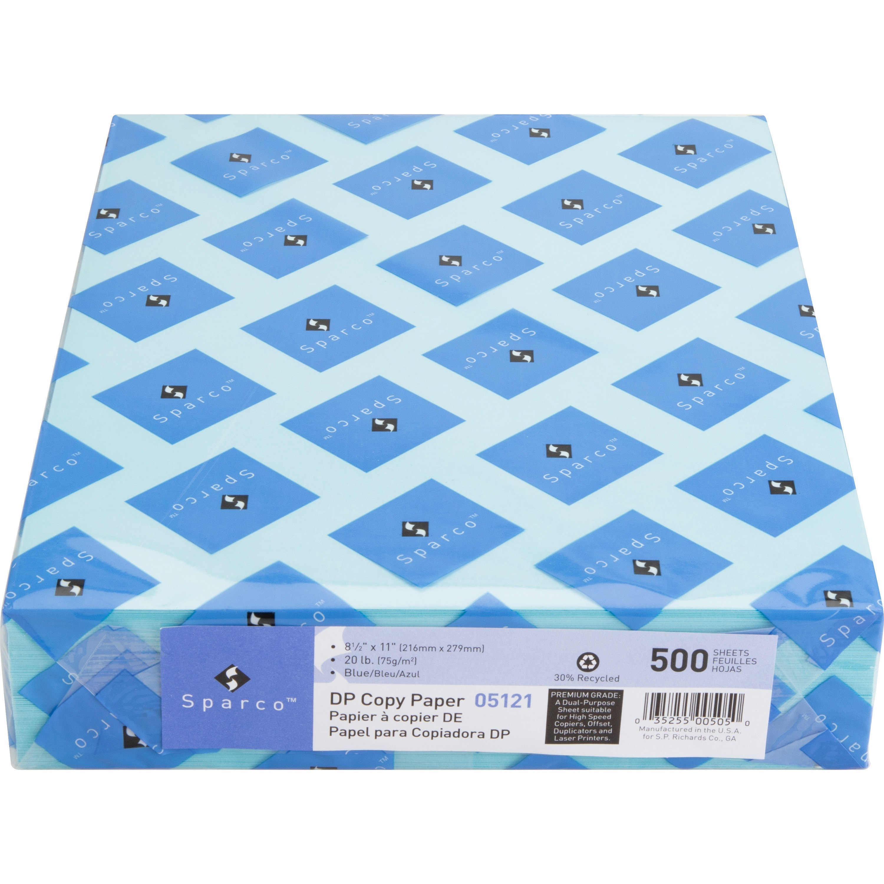 Sparco Laser Copy & Multipurpose Paper - 30% Recycled