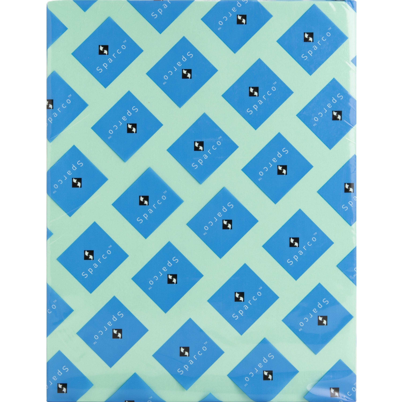 Sparco Premium Grade Pastel Color Copy Paper - Green - 500 Sheets