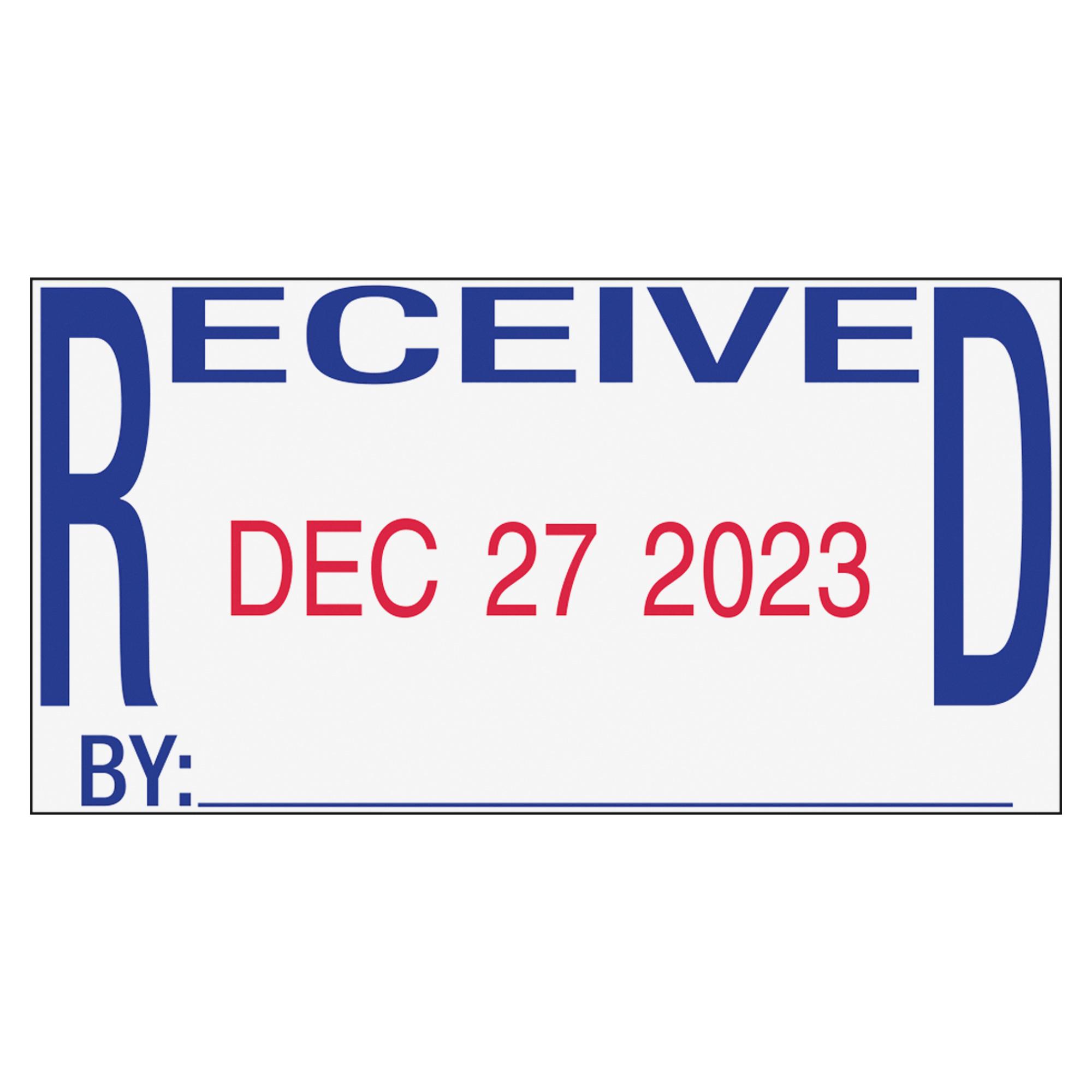 Trodat Received Date Stamp