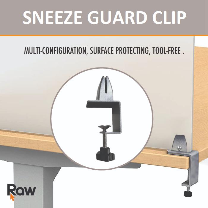 Sneeze Guard Clip - Each